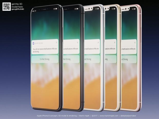 Cận cảnh vẻ đẹp mê mẩn của iPhone 8 có thể làm bạn dốc hết hầu bao để mua ngay - Ảnh 1.