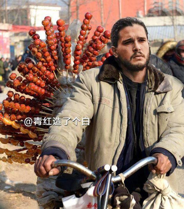 Cười bò với bộ ảnh chế nhân vật Game of Thrones lưu lạc sang Trung Quốc - Ảnh 1.