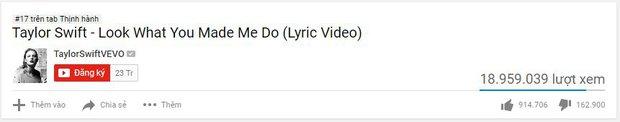 Chỉ tung Lyric Video, Taylor Swift đã dập Katy Perry tơi tả trên mọi mặt trận - Ảnh 2.
