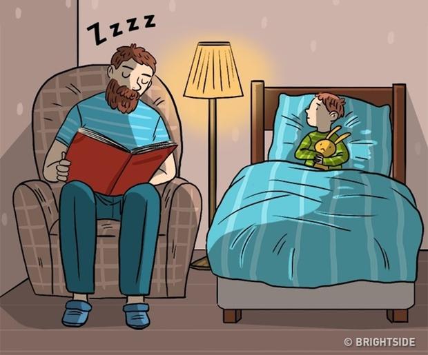Trên đời này, có những việc chỉ duy nhất bố có thể làm mà thôi - Ảnh 1.