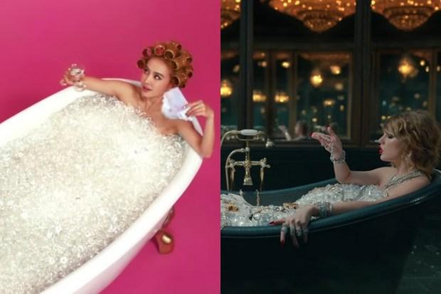 LWYMMD của Taylor Swift bị tố đạo MV của Nữ hoàng vũ đạo Cpop Thái Y Lâm - Ảnh 5.