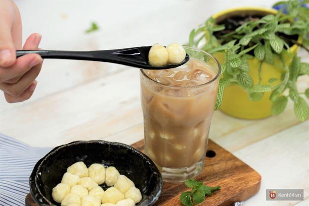 Thạch phô mai viên - topping thần thánh trong món trà sữa hóa ra có thể tự làm ngay tại nhà - Ảnh 9.