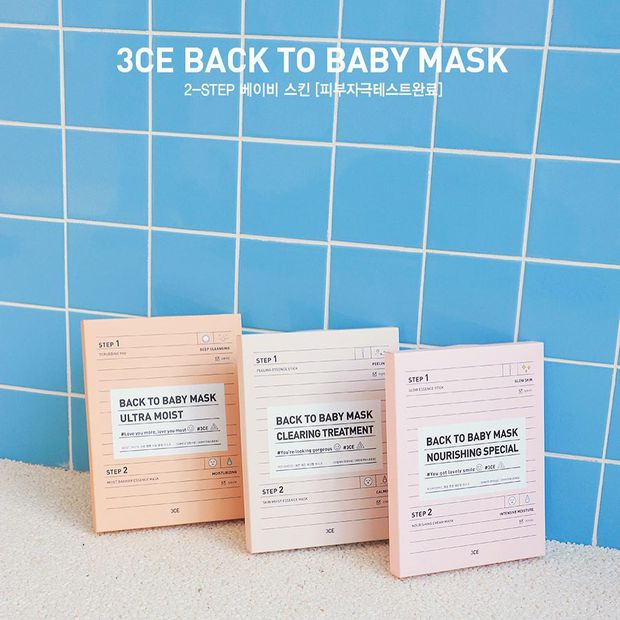 3CE vừa ra mặt nạ giấy cực xinh với cách sử dụng 2 bước siêu hay ho, dự đoán sẽ gây sốt - Ảnh 1.