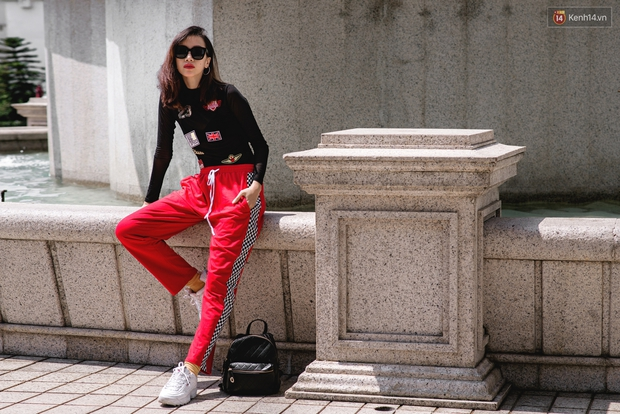 Street style chẳng cần lồng lộn, cứ cao và gầy thì đơn giản cũng thành mặc đẹp của mẫu Việt tuần qua - Ảnh 2.