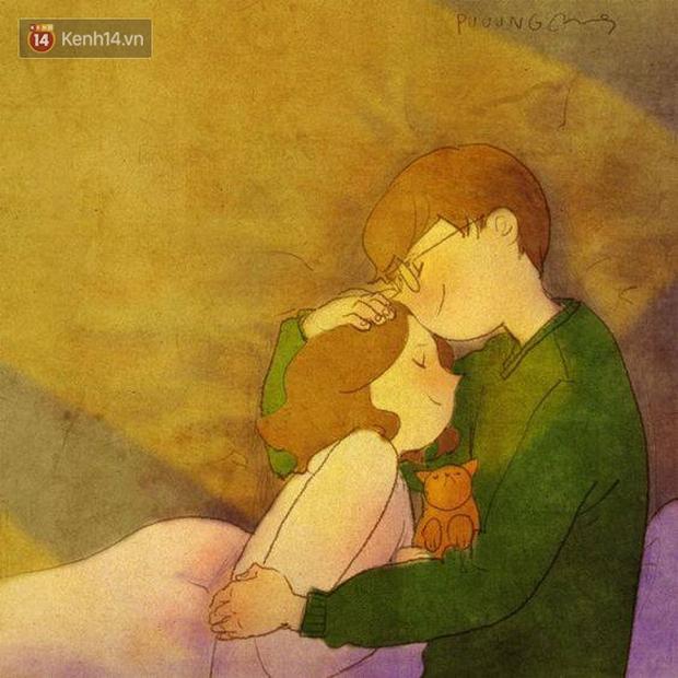 Cảm giác bình yên và ấm áp nhất: Được rúc vào vòng tay bạn trai ngủ quên cả thế giới! - Ảnh 13.