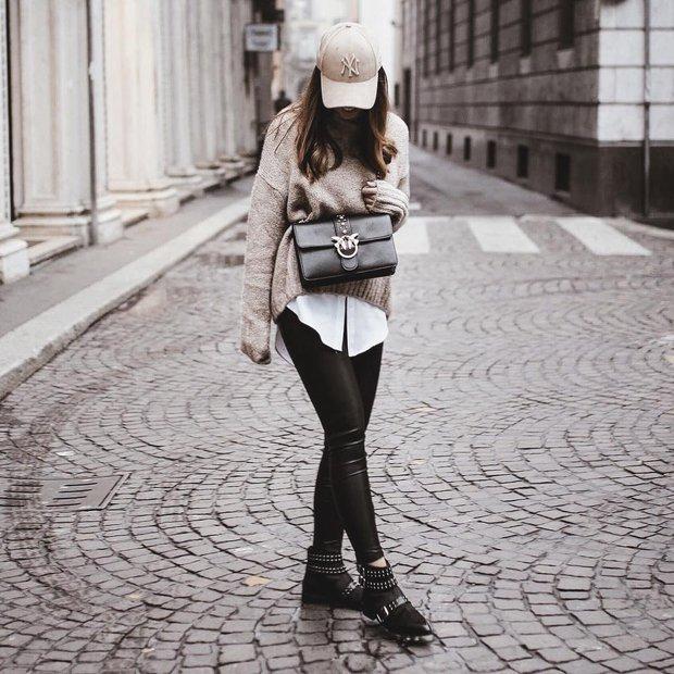 Mải mê ngắm street style ngày lạnh đẹp quên sầu của giới trẻ thế giới - Ảnh 10.