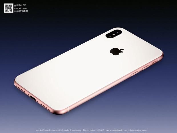 Cận cảnh vẻ đẹp mê mẩn của iPhone 8 có thể làm bạn dốc hết hầu bao để mua ngay - Ảnh 4.