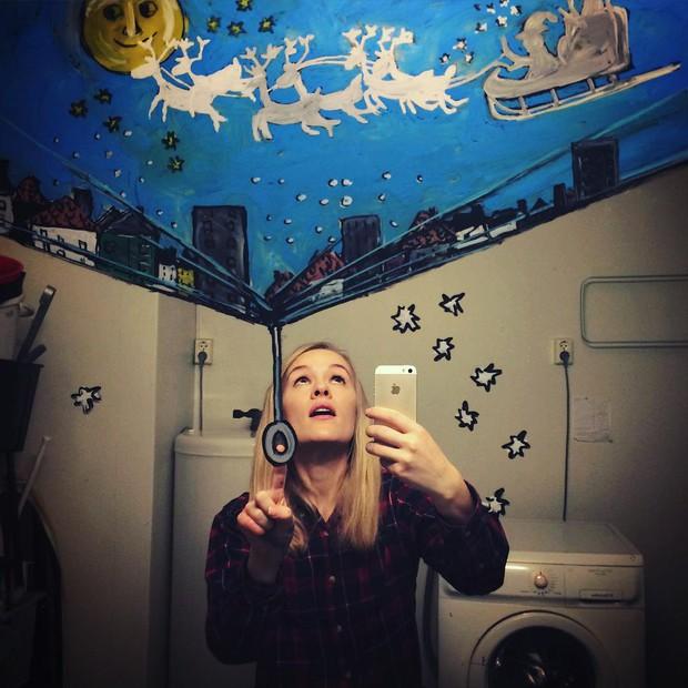 Đố bạn chụp selfie trong gương đẹp và chất như cô gái này - Ảnh 11.