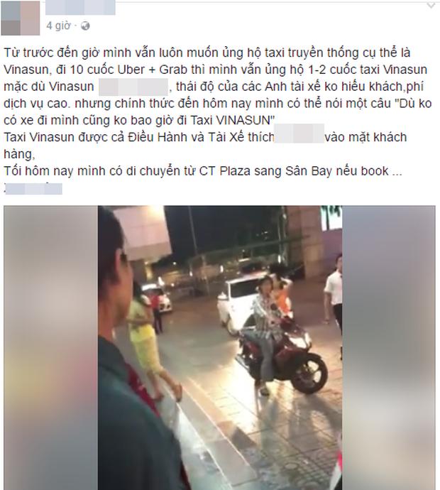 Chuyện gây tranh cãi: Cô gái bức xúc khi tài xế từ chối vì bắt taxi từ CT Plaza vào sân bay chỉ 600 mét - Ảnh 1.