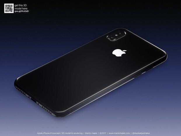 Cận cảnh vẻ đẹp mê mẩn của iPhone 8 có thể làm bạn dốc hết hầu bao để mua ngay - Ảnh 5.