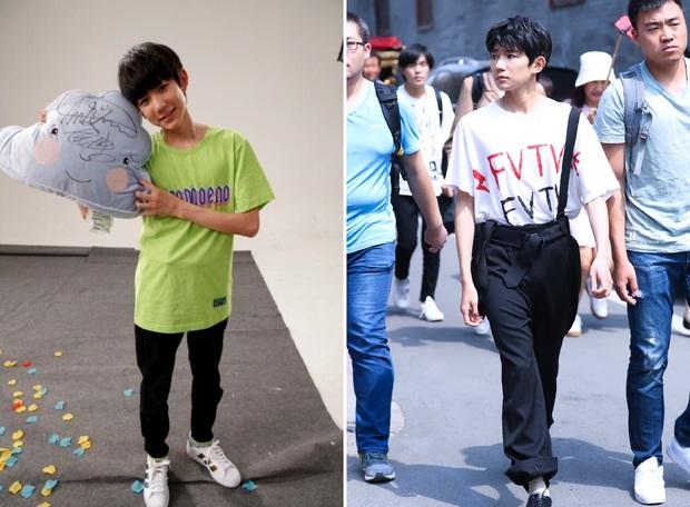 TFBoys, 3 chàng thiếu niên ngây thơ ngày nào giờ đã trở thành bộ 3 mỹ nam sành điệu mặc chất - Ảnh 13.