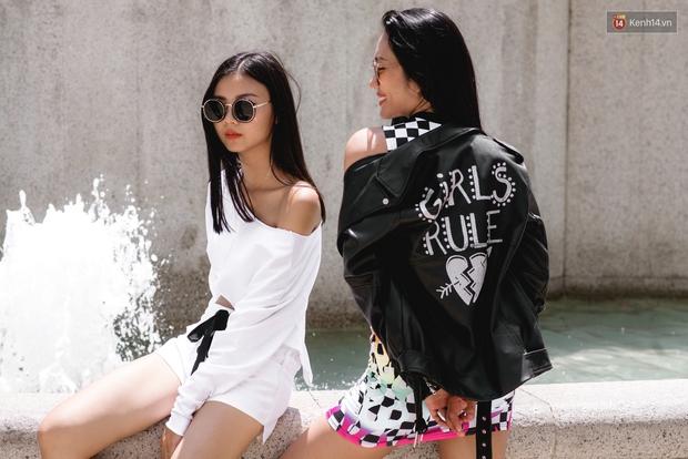 Street style chẳng cần lồng lộn, cứ cao và gầy thì đơn giản cũng thành mặc đẹp của mẫu Việt tuần qua - Ảnh 14.