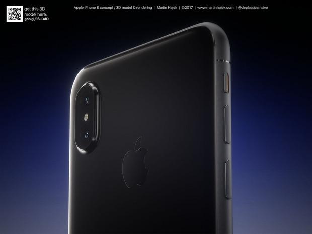 Cận cảnh vẻ đẹp mê mẩn của iPhone 8 có thể làm bạn dốc hết hầu bao để mua ngay - Ảnh 6.