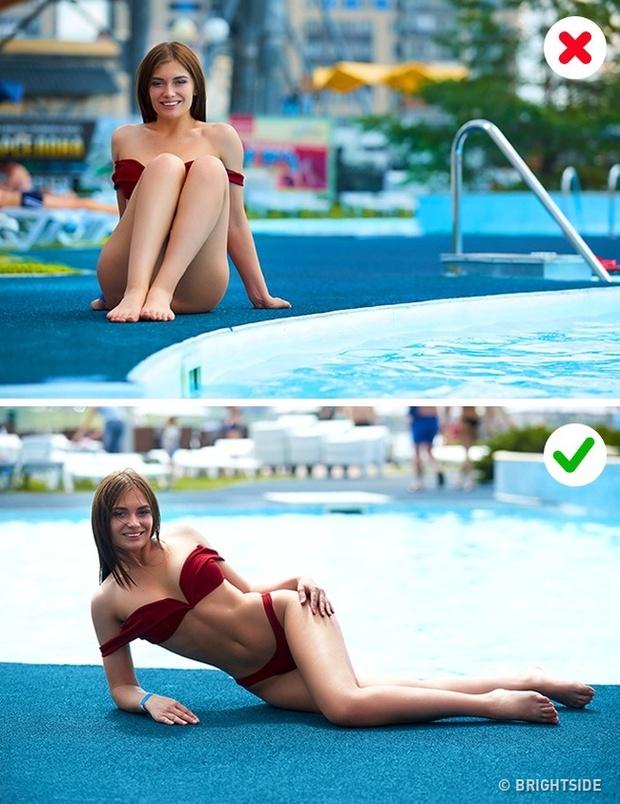 7 lỗi thường gặp khi chụp ảnh với áo tắm và cách khắc phục chúng - Ảnh 7.