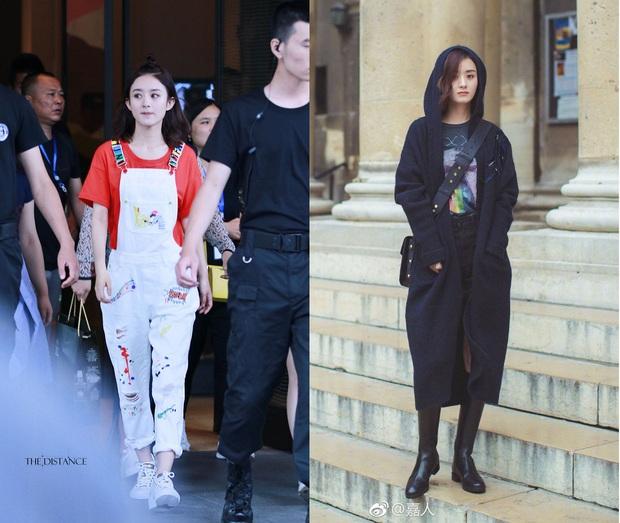 Lưu Thi Thi, Triệu Lệ Dĩnh và Cổ Lực Na Trát: Sau khi xuống tóc, style cũng thay đổi luôn 180 độ - Ảnh 14.