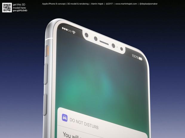 Cận cảnh vẻ đẹp mê mẩn của iPhone 8 có thể làm bạn dốc hết hầu bao để mua ngay - Ảnh 8.