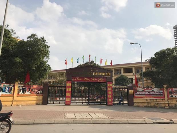 Bố của học sinh bị gãy chân ở trường Nam Trung Yên phân tích điểm vô lý trong báo cáo của hiệu trưởng - Ảnh 1.