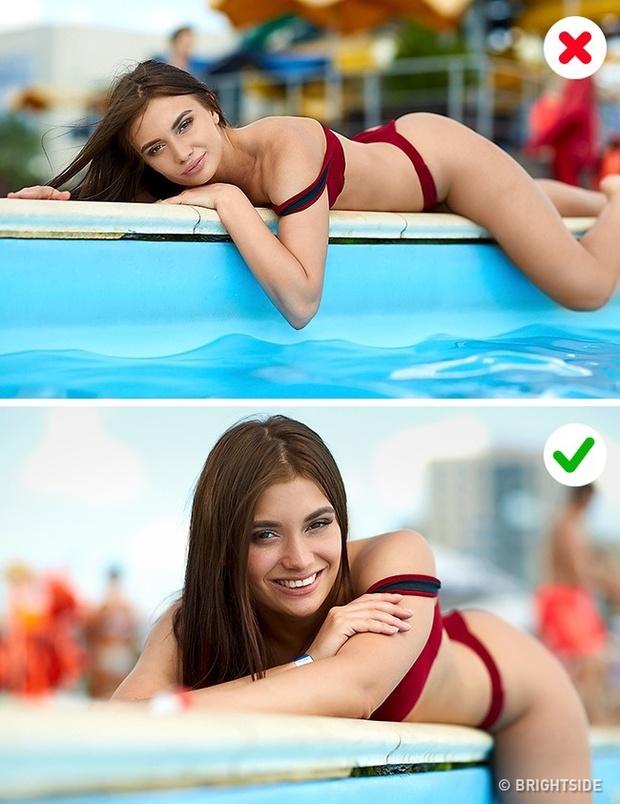 7 lỗi thường gặp khi chụp ảnh với áo tắm và cách khắc phục chúng - Ảnh 4.