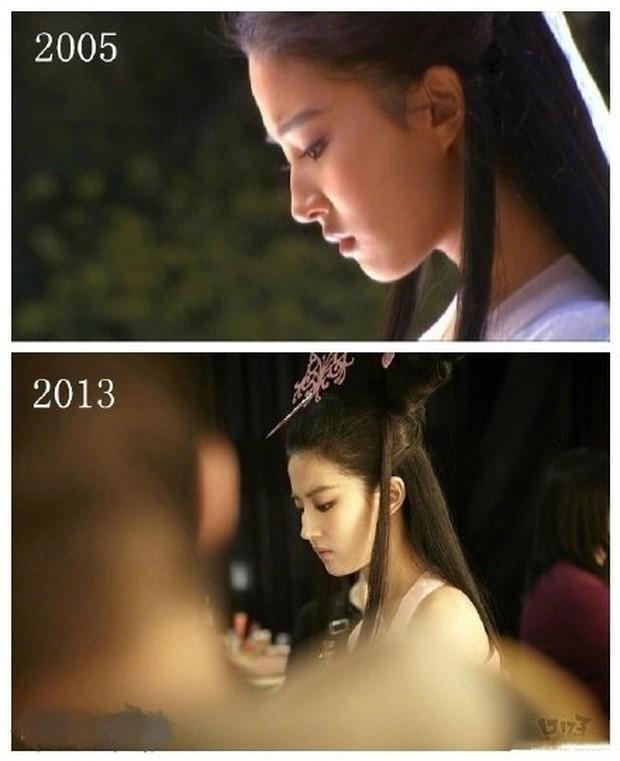 Cùng 1 góc chụp, nhan sắc Lưu Diệc Phi trước và sau 11 năm vẫn đẹp xuất sắc, lấn át Angela Baby - Dương Mịch - Ảnh 8.