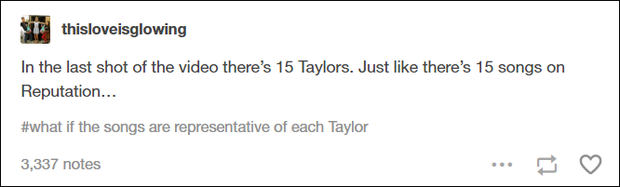15 Taylor ở cảnh cuối chính là nội dung 15 track trong album mới Reputation? - Ảnh 1.