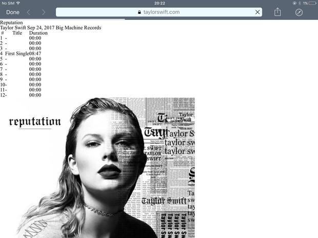 15 Taylor ở cảnh cuối chính là nội dung 15 track trong album mới Reputation? - Ảnh 3.
