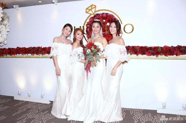 Trần Kiều Ân và nhan sắc ngọt ngào lại một lần nữa đánh bại cả cô dâu lẫn dàn phù dâu trong đám cưới - Ảnh 3.
