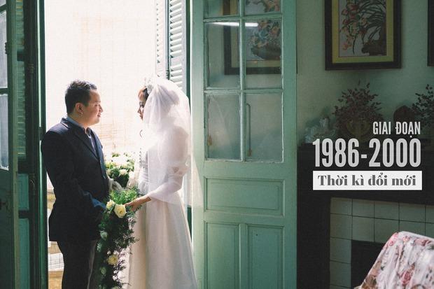 Độc nhất vô nhị: Chụp một lần, cặp đôi tái hiện được tất cả các kiểu lễ cưới Việt Nam trong 100 năm qua! - Ảnh 12.