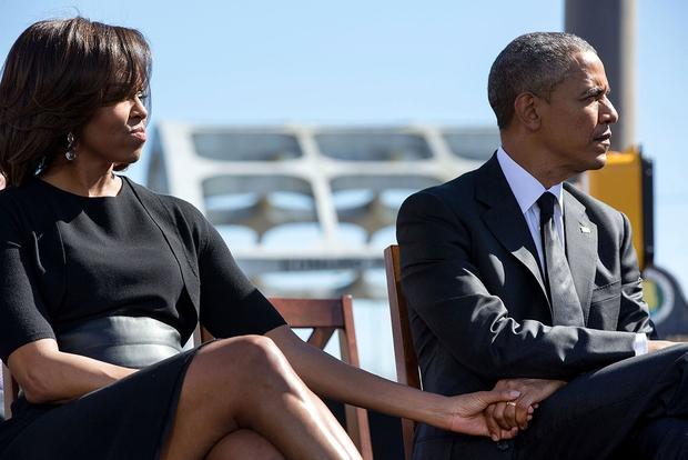 Những khoảnh khắc đáng nhớ bên vợ con của Tổng thống Obama trong 8 năm đương nhiệm - Ảnh 35.