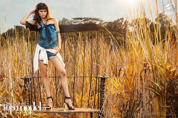 Lại ngất xỉu, nhưng Minh Tú vươn lên hẳn thứ 2 Asias Next Top Model! - Ảnh 15.