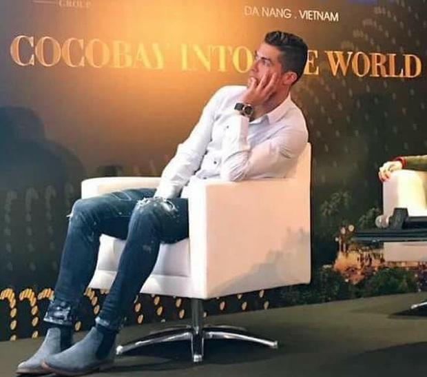 Cristiano Ronaldo tập nói tiếng Việt cực dễ thương - Ảnh 3.