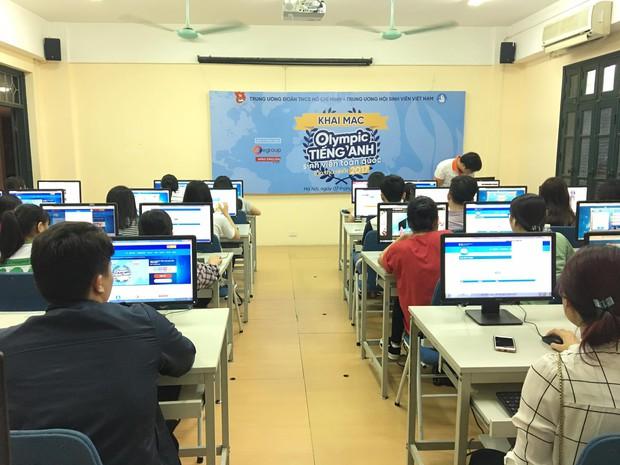 Hội thi Olympic Tiếng Anh sinh viên toàn quốc lần thứ I chính thức được khai mạc - Ảnh 4.