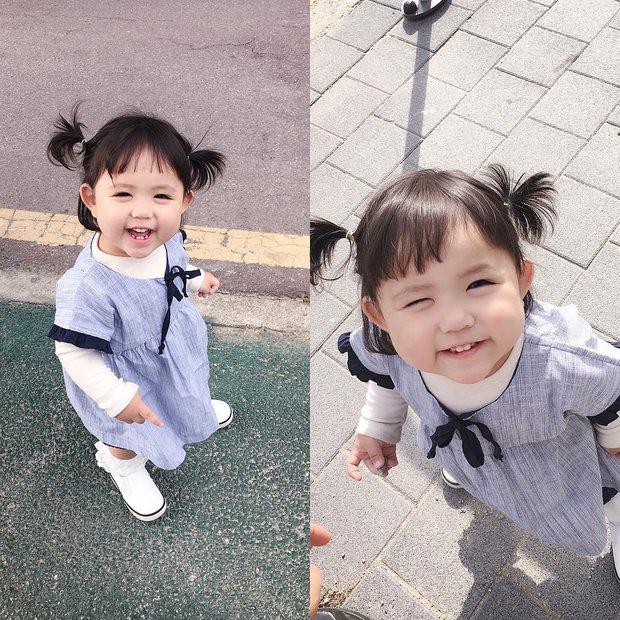 Cô nhóc Hàn Quốc dễ thương như thiên thần, ngắm ảnh chỉ muốn có con gái luôn thôi - Ảnh 3.