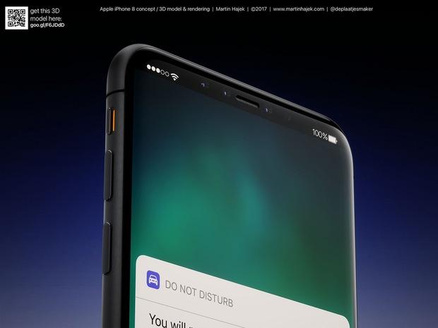 Cận cảnh vẻ đẹp mê mẩn của iPhone 8 có thể làm bạn dốc hết hầu bao để mua ngay - Ảnh 11.