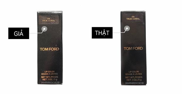Trọn bộ bí kíp phân biệt son fake - son thật của MAC, Tom Ford, Dior, Givenchy, Giorgio Armani - Ảnh 19.