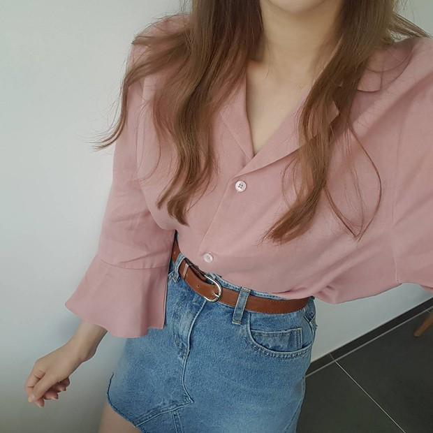 Đi học cũng nên diện đồ thật xinh, và đây là 5 kiểu áo sơmi xinh nức nở cho các nàng mùa Back To School - Ảnh 6.