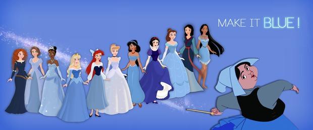 Nếu muốn trở thành nàng công chúa Disney, hãy mua cho mình một bộ váy màu xanh! - Ảnh 1.