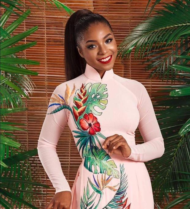 Nhan sắc ấn tượng của người đẹp gốc Phi được ủng hộ nồng nhiệt tại Hoa hậu Hoàn vũ Việt Nam 2017 - Ảnh 2.