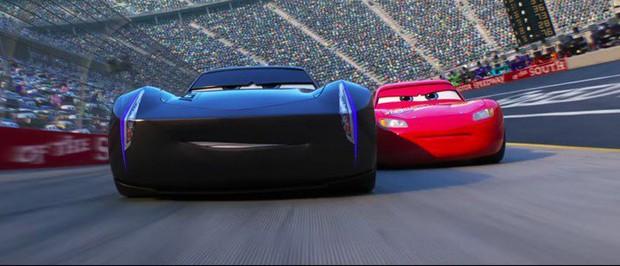 Cars 3 - Cái kết đẹp cho tay đua cự phách Lightning McQueen - Ảnh 2.