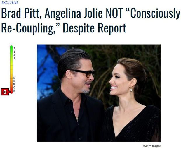 Sốc: Đây mới là sự thật về cuộc tái hợp thế kỷ của Angelina Jolie và Brad Pitt? - Ảnh 5.