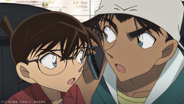 Conan và Heiji loay hoay cùng vụ trọng án mới
