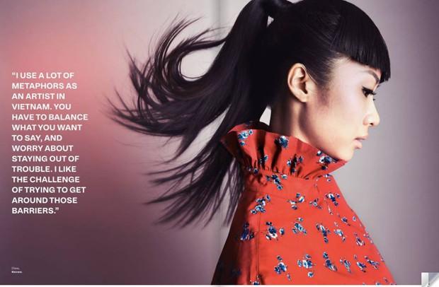 Hết làm KOLS cho H&M, Suboi lại lên trang bìa tạp chí danh tiếng của Singapore - Ảnh 2.