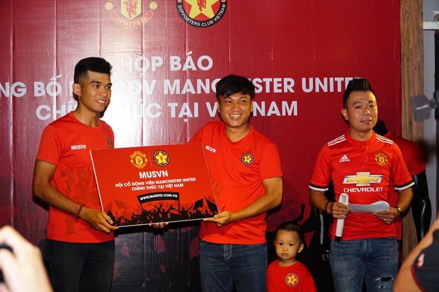 Man Utd công nhận hội CĐV chính thức tại Việt Nam - Ảnh 1.