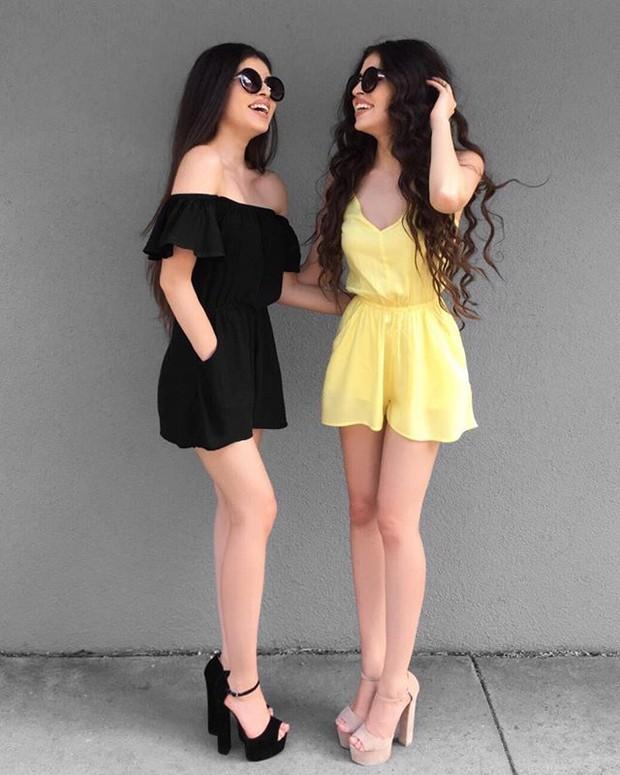 Cặp chị em sinh đôi người đẹp dáng xinh, thu hút sự chú ý của cộng đồng mạng Việt Nam - Ảnh 10.