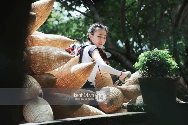 Amazing Race Trung Quốc tại Việt Nam: Vương Lệ Khôn - Trịnh Nguyên Sướng mặc áo dài, kiệt sức dưới trời nắng - Ảnh 16.