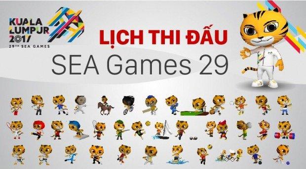 Lịch trực tiếp các môn thể thao tại SEA Games 29 - Ảnh 1.
