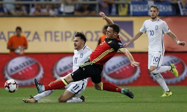 Bom tấn của Man Utd ghi bàn, Bỉ là đội bóng châu Âu đầu tiên dự World Cup 2018 - Ảnh 4.