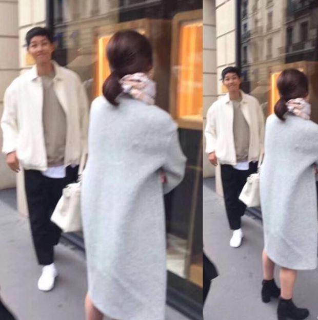 Song Hye Kyo khoe ảnh dáng thon tại Paris, fan đoán Song Joong Ki hớn hở bên cạnh chính là người chụp - Ảnh 1.