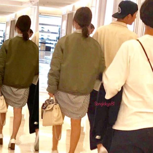Song Hye Kyo khoe ảnh dáng thon tại Paris, fan đoán Song Joong Ki hớn hở bên cạnh chính là người chụp - Ảnh 3.