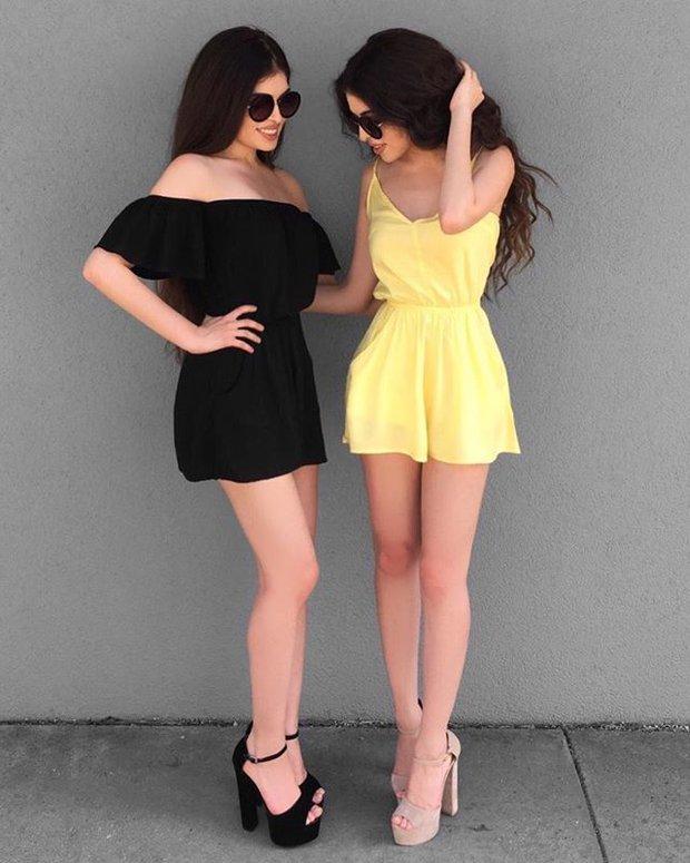 Cặp chị em sinh đôi người đẹp dáng xinh, thu hút sự chú ý của cộng đồng mạng Việt Nam - Ảnh 11.