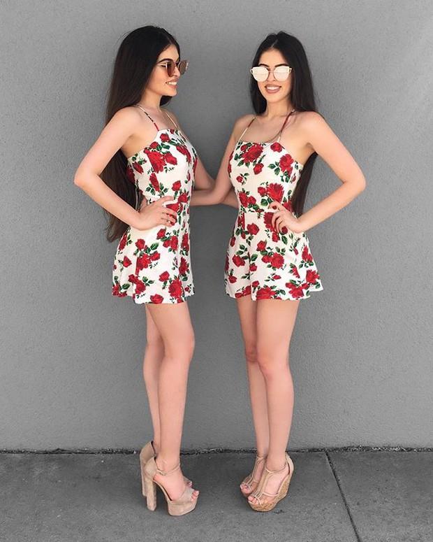 Cặp chị em sinh đôi người đẹp dáng xinh, thu hút sự chú ý của cộng đồng mạng Việt Nam - Ảnh 13.